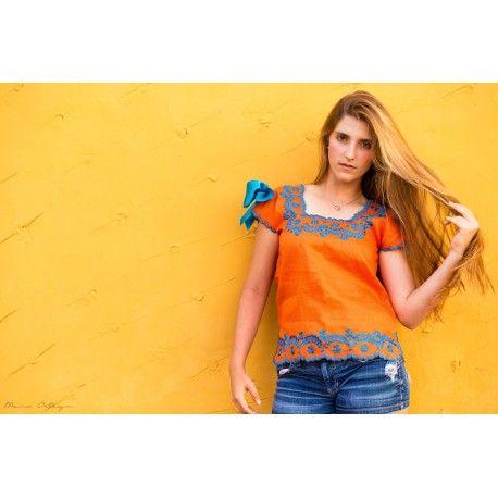 Ropa mexicana mujer ropa hecha en m xico blusas - Ropa hippie moderna ...
