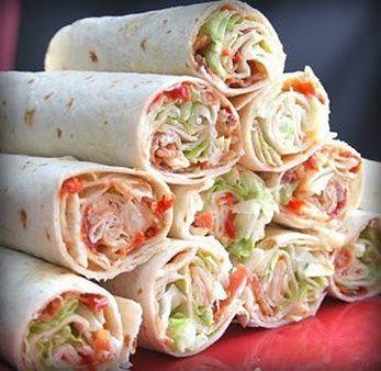 Weight Watchers Recipes - BLT Wrap Recipe