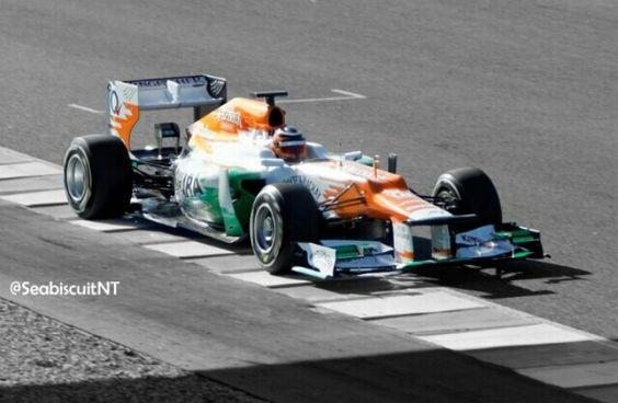 Nico Hulkenberg/Force India, en el Circuito de Jerez.