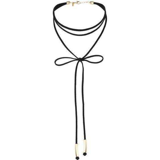 Miss Selfridge Bow Wrap Choker found on Polyvore featuring jewelry, necklaces, bow jewelry, wrap necklace, choker necklace, wrap jewelry and burgundy necklace .........................................................................................................Schmuck im Wert von mindestens   g e s c h e n k t  !! Silandu.de besuchen und Gutscheincode eingeben: HTTKQJNQ-2016