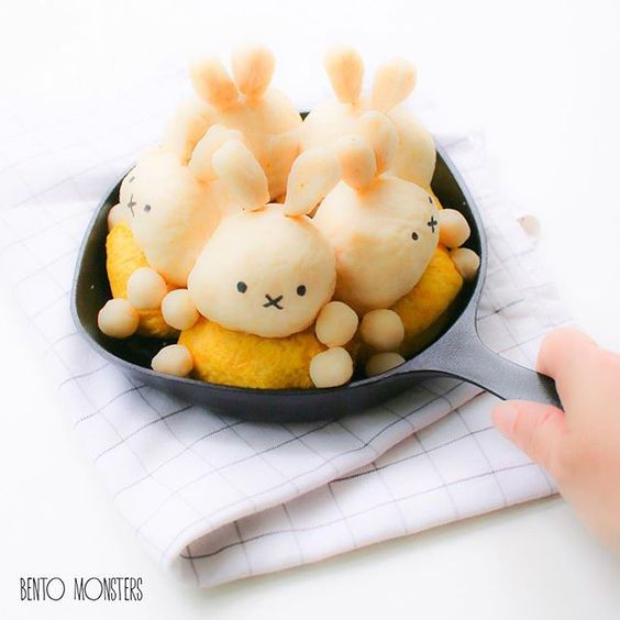 #miffy bread  by bentomonsters