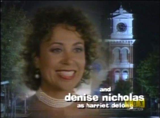 New opening credits photo of Harriet DeLong, soon to be Harriet DeLong Gillespie by the end of Season Seven.