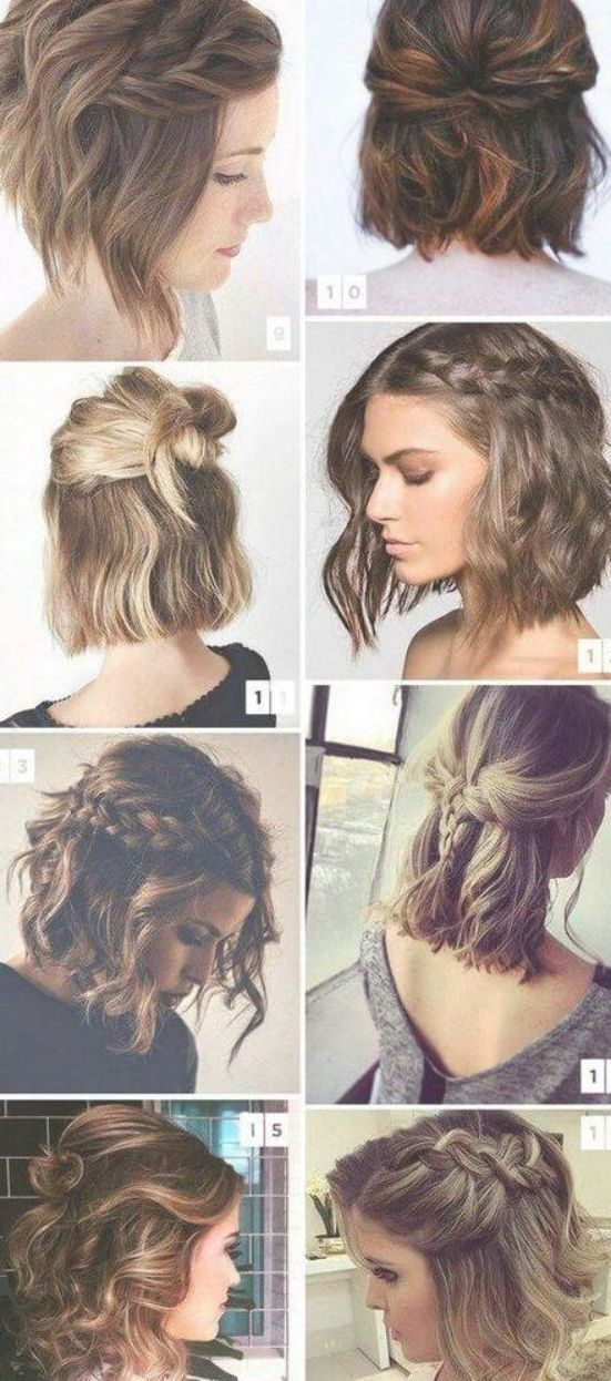 Hair Prom Hairstyles Short 67 Ideas Easy Hairstyles For Long Hair Short Straight Hair Hair Styles