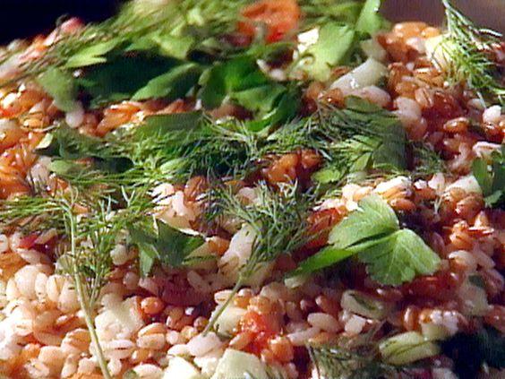 Greek Grain Salad from FoodNetwork.com
