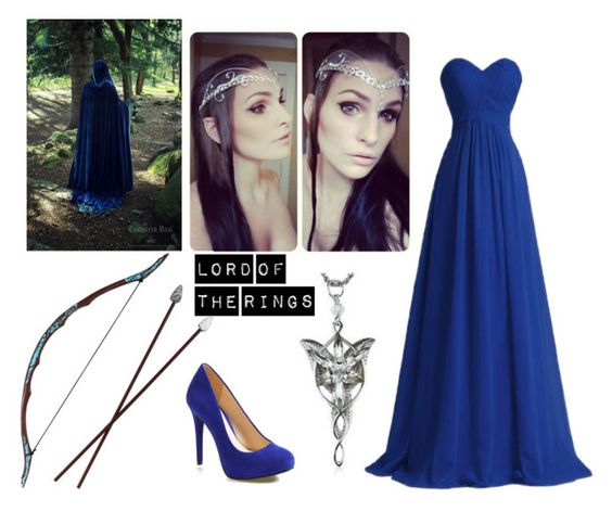 """Lord Of The Rings Elven Outfit"" by accio-hogwarts-81 ❤ liked on Polyvore featuring Jessica Simpson and beccasfandomoutfits"
