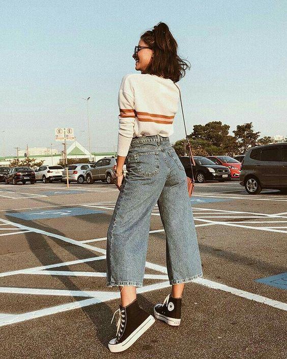 Formas En Las Que Puedes Lograr Un Aesthetic Outfit Con Tus Jeans Moda De Ropa Ropa Estetica Ropa Vintage Mujer