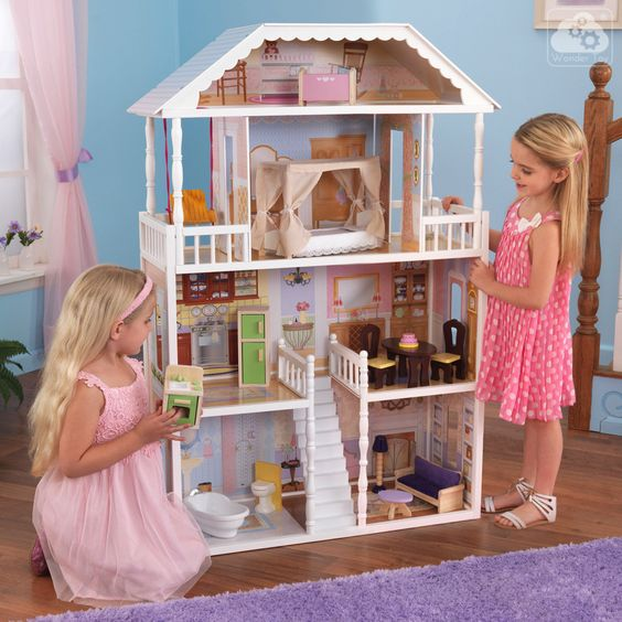 Domek dla lalek KidKraft Savannah 65023   Zabawki \ Domki dla lalek  