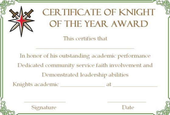 10 Superb Knights Of Columbus Certificate Templates For Appreciation Template Sumo Certificate Templates Knights Of Columbus Leadership Abilities