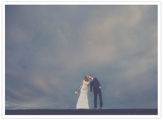 Uniquely simple...this #wedding shot of the couple is absolutely gorgeous!  From http://www.100layercake.com/blog/2012/06/11/australian-wedding-anneke-corey/  Photo Credit: http://wscottchesterblog.com/