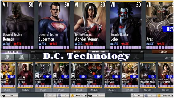 Apk Download Injustice Gods Among Us Hack Get 9999999 Power Energy Unlock All Characters And Unlock All Special Costumes Injustice Free Energy Cheating