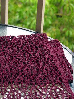 Crochet Kernel Stitch : crochet lace scarf scarf knit knitting scarves crochet hooks openwork ...