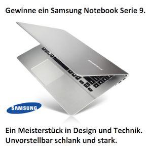 Gewinne ein Samsung Serie 9 Notebook!