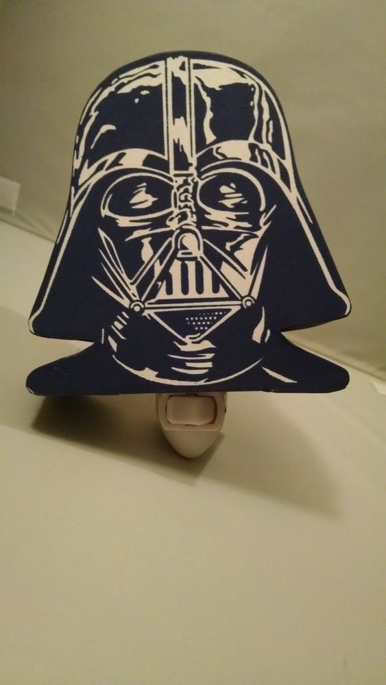 Pottery Barn Kids Darth Vader Night Light In Blue White This Is