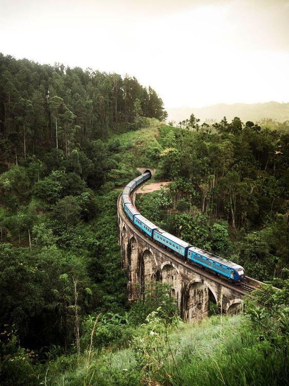 Srí Lanka svatební cesta