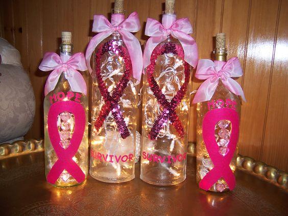 breast cancer wine bottles pink ribbon pinterest bottle wine bottles and wine. Black Bedroom Furniture Sets. Home Design Ideas