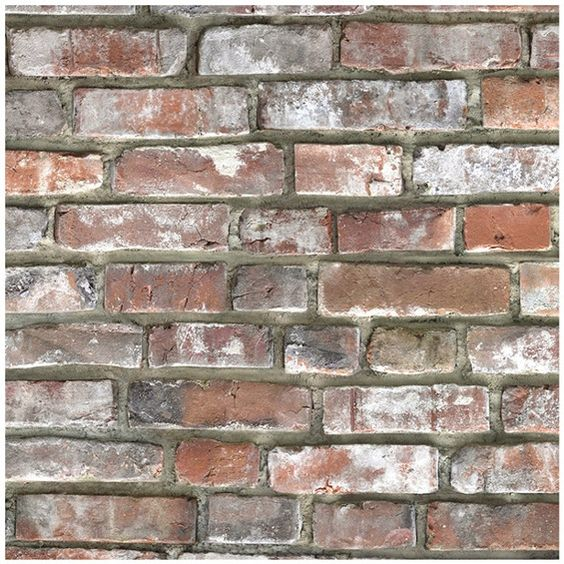 Küchenrückwand 296 cm x 58,5 cm Old Bricks (D2111 Bril.)