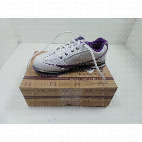 Brunswick Ladies Curve Purple Bowling Shoes Size 7 #CharterAMG #Health #CharterFinds