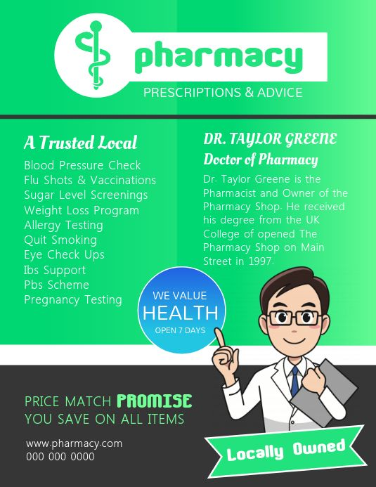 Pin On Pharmacy Posters