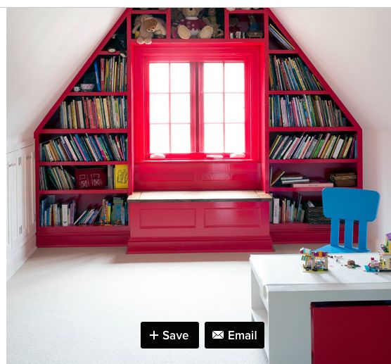 i love all this storage for books