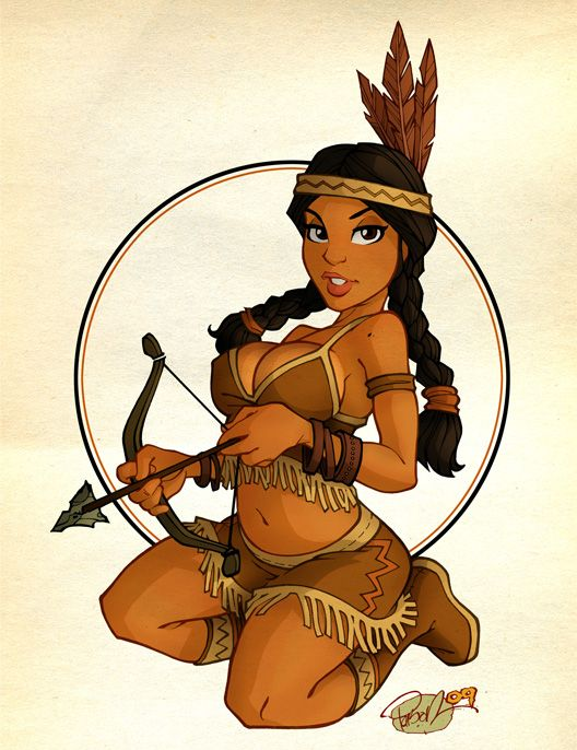 Indian Princess by blitzcadet.deviantart.com on @deviantART: