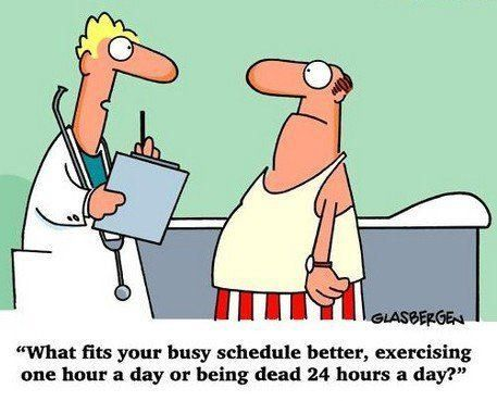 Busy schedule