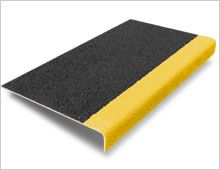 Amazing With A Gritted Surface, Anti Slip Stair Tread Covers Are A Quick And Cost  Effective Solution To Improving Safety On Potential Slip Hazard Stairs, ...