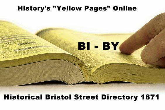 BI - BY - Bristol Avenue Directory 1871