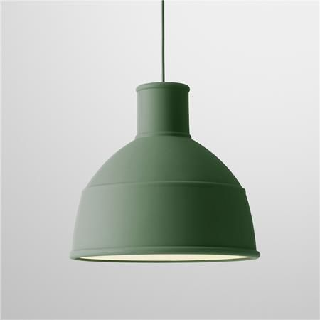 UNFOLD - suspension souple verte en silicone