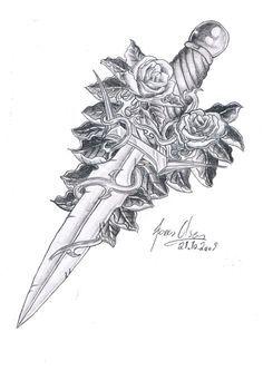 peter pan dagger tattoo - Google Search