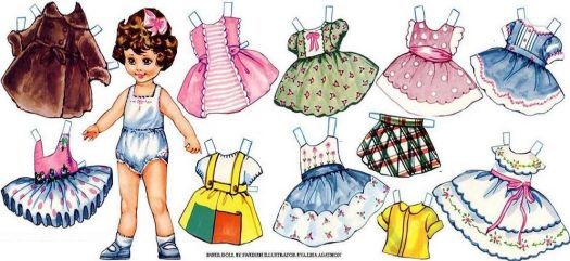 Paper Doll (78 pieces)