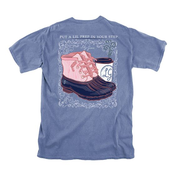Prep in your step tee