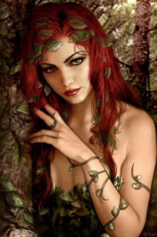 Poison Ivy // Raffaele Marinetti | deviantART | Blog | Facebook | Twitter