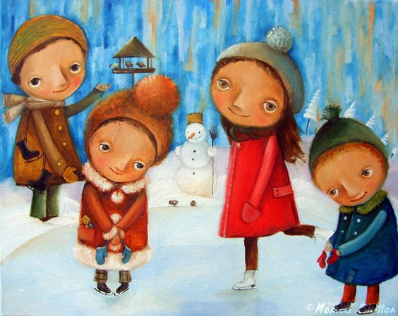 Print of oil painting on canvas by Monica Blatton, $15.00