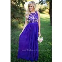 Dreamlover Bridesmaid Dress in Indigo