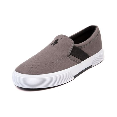 Shop for Mens Fakenham Casual Shoe by Polo Ralph Lauren in Gray Black at Journeys Shoes