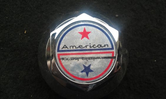 American Racing Aftermarket Wheel Center Hub Cap Chrome