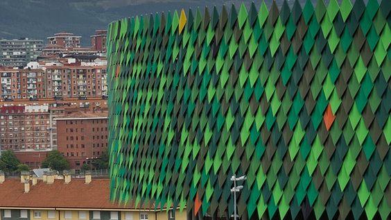 Баскетбольный стадион Bilbao Arena в Бильбао