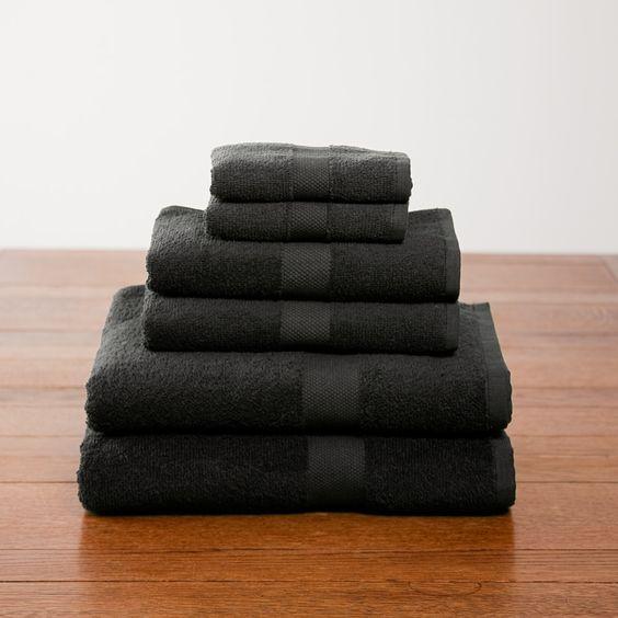 Six-Piece Cotton Towel Set - $25.90
