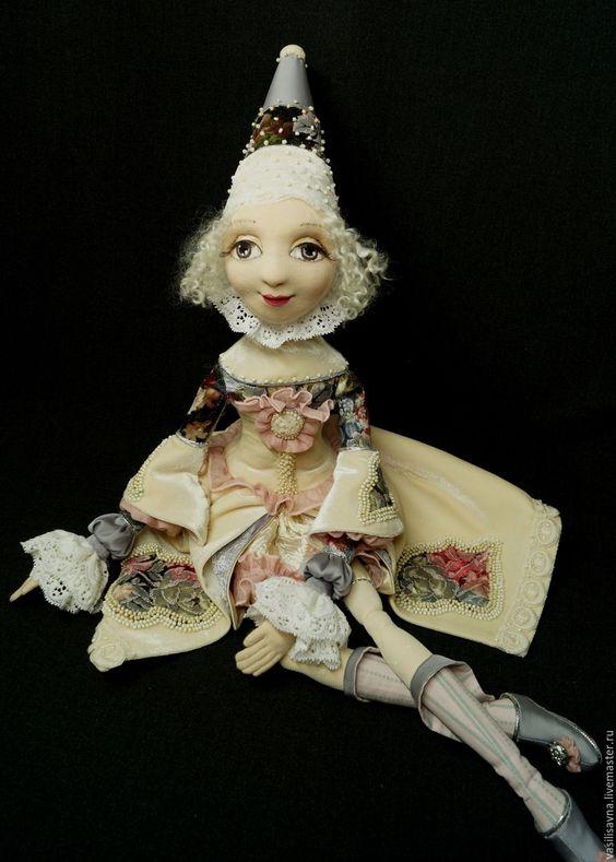 Купить Сотканы из сновидений 2 - бежевый, кукла ручной работы, кукла интерьерная, кукла текстильная