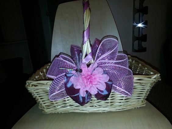 I loved making Easter baskets.
