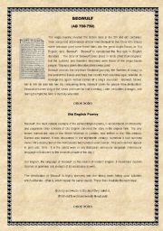 Printables Beowulf Worksheets reading worksheets and comprehension on pinterest english teaching beowulf