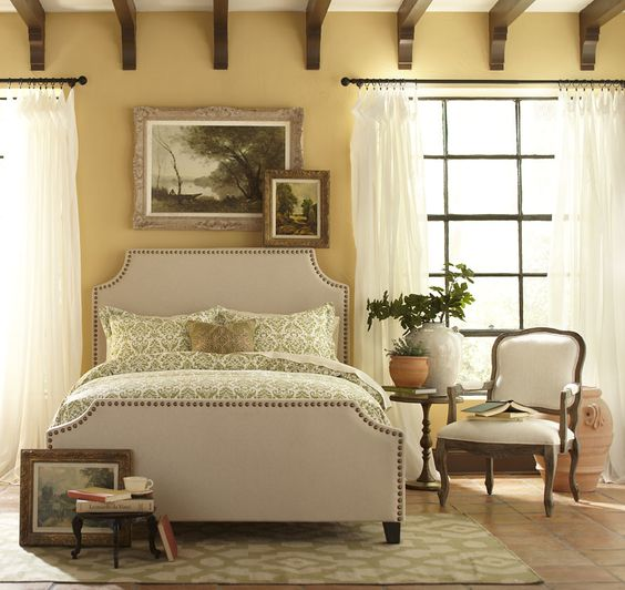 Birch Lane Parker Nailhead Trim Bed & Reviews