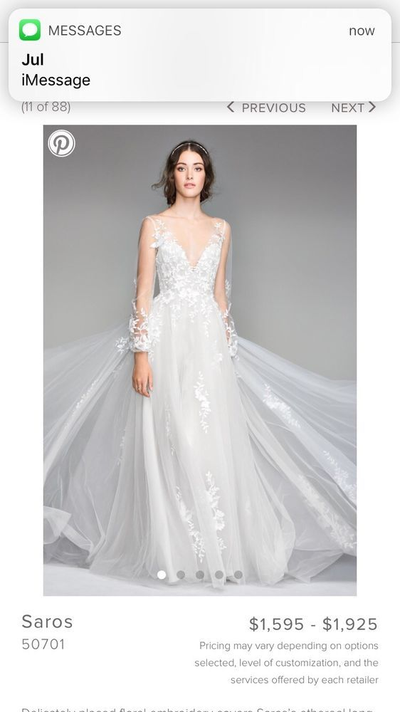 Watters Wedding Dress Fashion Clothing Shoes Accessories