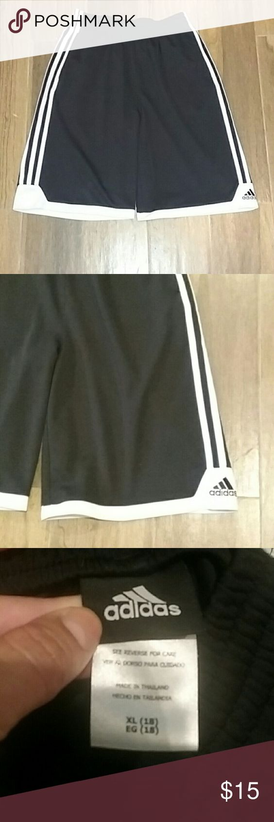 TWO  Pairs of Adidas Shorts Very good quality Adidas shorts. Boys XL, MEN SMALL- Medium. Adidas Bottoms Shorts