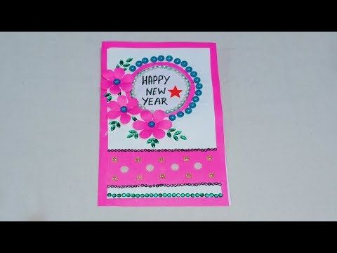 2384 New Year Greeting Card How To Make Greeting Card For New