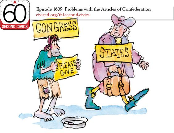 Why the articles of confederation failed essay