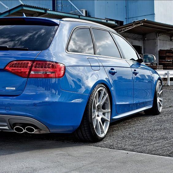 Sprint Blue B8 Audi S4 Avant... me likey.