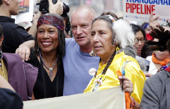 People's Climate March in New York - These Celebrities Are Really Concerned About the Climate (When They Don't Need to Fly on Private Jets)