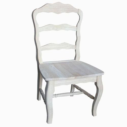 unfinished ladder back cane bottom chairs