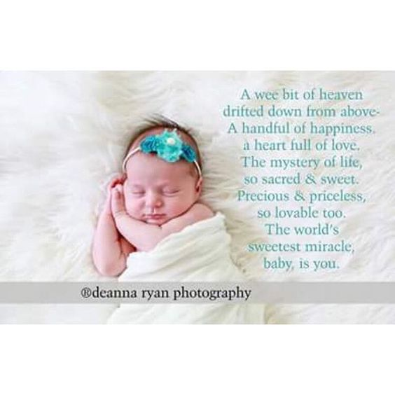 Precious New Born Thoughts